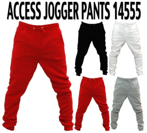 NEW MEN/'S AUTHENTIC 4 DIFFERENT COLORS OF ACCESS  JOGGER PANTS SWEATS 15555