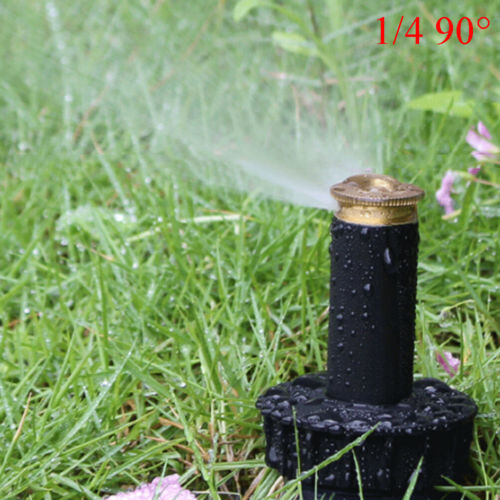 90-360 ° Sprinkler Rasenbewässerung Sprinklerkopf Verstellbare Gartensprühdüs M0