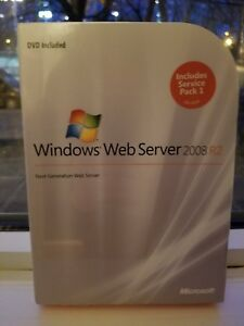 Details about Microsoft Windows Web Server 2008 R2,SKU LWA  00984,64-Bit,Full Retail,Sealed Box