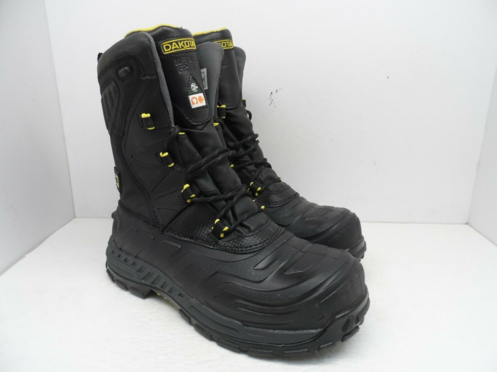 Dakota Men's 10  Composite Toe Composite Plate Oil Transitional Boot Black 9M