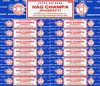15 Boxes 15 Grams Each Nag Champa Incense Satya Sai Baba Agarbatti 2016 Series