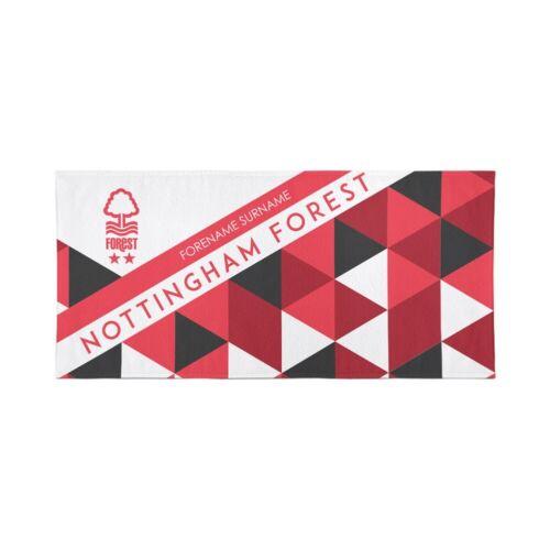 Nottingham Forest F.C Personnalisé Serviette 70 cm x 140 cm