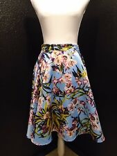 "Honey Mi Honey Women's 24"" Long Floral Skirt Size Medium <A>"