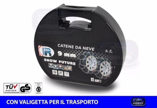 Catene neve 175//75 R16 Omologate auto Catene da neve MM.9 Cerchio 14 15 16 17 18