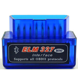 Mini OBD2 OBDII ELM327 v1.5 Android Bluetooth Adapter Auto Scanner Torque tool