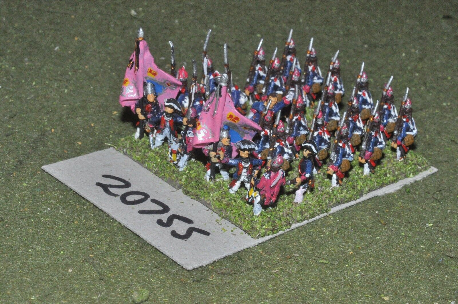 15mm 7YW   hessian - infantry 30 figures  - inf (20755)