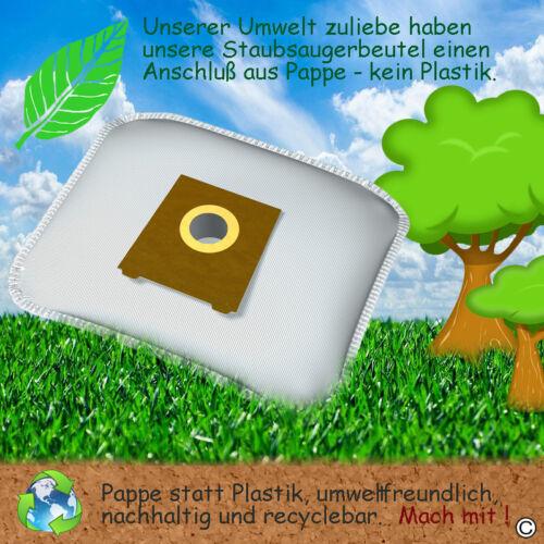 Staubsaugerbeutel Hepa Filter passend für Siemens FD 9212 Tüten Staubbeutel
