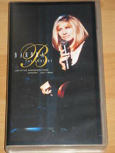 VHS-BARBARA-STREISAND-THE-CONCERT-LIVE-ARROWHEAD-POND-ANAHEIM-1994-PAL