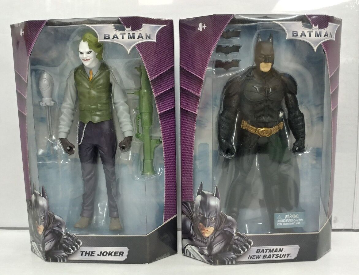 Batman & Joker 10  Action Figure 2008 DC Mattel New RARE