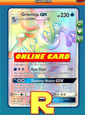 ptcgo in Game Card - Pokemon TCG Online Rainbow R RR Garchomp /& Giratina GX