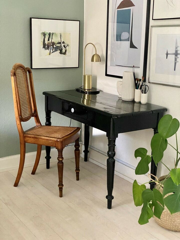 Spisebordsstol, Vintage stol. 2 – dba.dk – Køb og Salg af