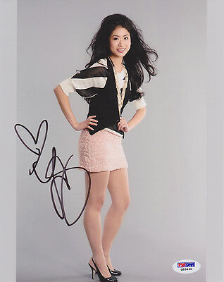 Autographs-original Entertainment Memorabilia Yin Chang Signed 8x10 Photo Gossip Girl Prom Paper Girl Psa/dna Autographed