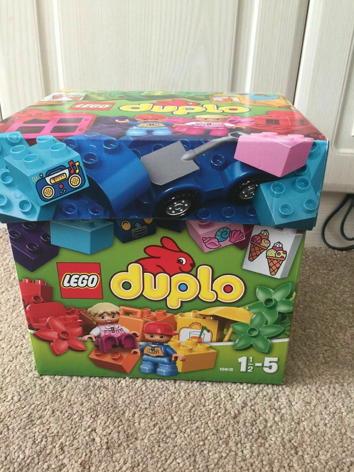 LEGO DUPLO 10618  Creative Building Box - Discontinued Retirot Set