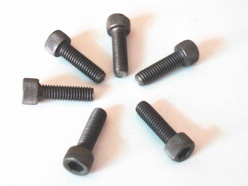 4pcs M6 x 20 Titanium Ti Screw Bolt Allen hex Socket Cap head Aerospace Grade