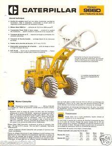 Equipment-Brochure-Caterpillar-966D-Log-Loader-Logging-French-E1836