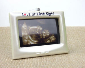 Ultrasound Frame Love At First Sight Christmas Ornament Diy