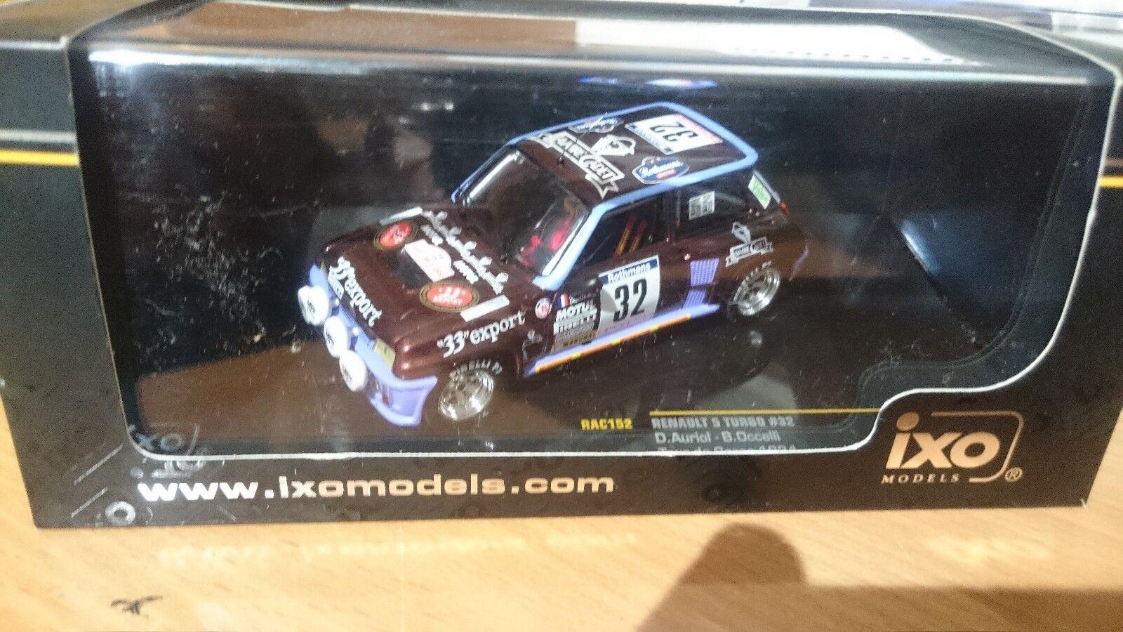 Renault 5 turbo  tour de corse 1984