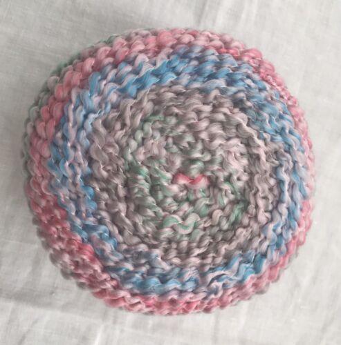 "Lion Brand® Homespun® Stripes New Look Yarn color #607 ""Nursery/""  Pastel Baby"
