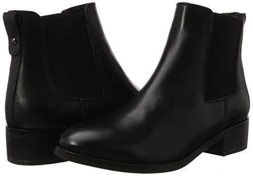 ALDO SIZE 3 36 MEAVEN BLACK REAL LEATHER LOW FLAT HEEL CHELSEA ANKLE BOOTS BNWB