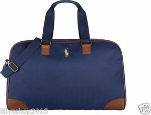e84112095a74 Image is loading RALPH-LAUREN-PARFUMS-POLO-PONY-WEEKEND-TRAVEL-HOLDALL-