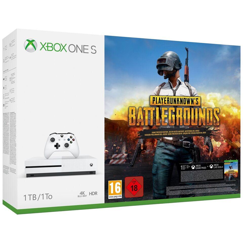 Xbox One, Xbox One S 1 TB + PlayerUnknown's...