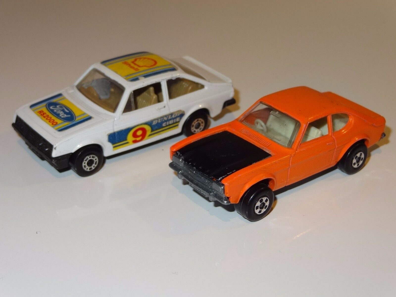Matchbox lesney FORD ESCORT RS 2000   CAPRI - 8   54