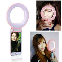 Usb Selfie Flash Led Phone Camera Photography Ring Fill Light For Iphone Samsung