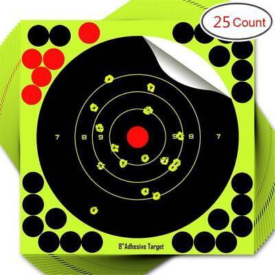 8 inch Self Adhesive Shooting Targets For Gun Rifle Airsoft BB Gun Pellet Gun