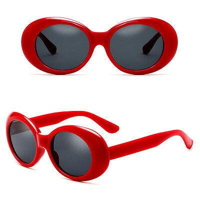 NIRVANA Mirrored Glasses Sunglasses Round Kurt Cobain For Women Men Vintage