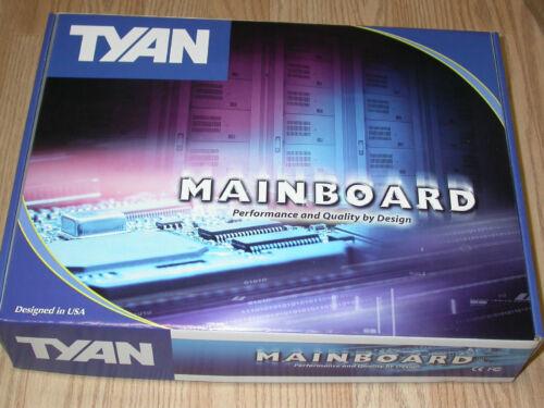 Tyan Tiger i7320 Intel E7320 Dual Xeon Socket 604 Motherboard w//Video /& LAN New