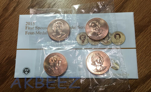 2015 First Spouse Medal Series Set JP9 ** FREE SHIPPING **