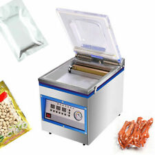 360w Fully Automatic Commercial Vacuum Sealer Food Sealing Machine Kitchen 26cm