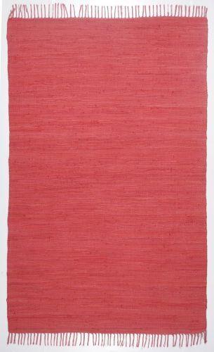 Mano theko webteppich Happy Cotton Red