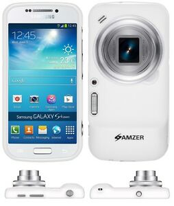 Amzer-Exclusive-Pudding-Matte-TPU-Case-Cover-For-Galaxy-S4-Zoom-SM-C1010-White