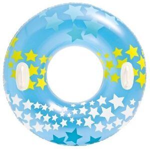 Bouée géante à poignées tube étoiles magiques 91 cm Bleu - Dès 9 ans - France - État : Neuf: Objet neuf et intact, n'ayant jamais servi, non ouvert. Consulter l'annonce du vendeur pour avoir plus de détails. ... Marque: GEN EAN: 5555558066275 - France