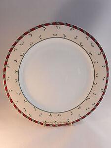 Debbie-Mumm-Santa-039-s-Spirit-Chop-Plate-Christmas-Platter-Sakura-12-1-2-Inches