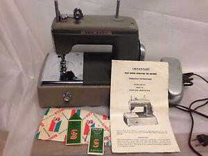 Rare vintage Sew Easy Sewing Machine Model #1932-42 w/Original Instructions