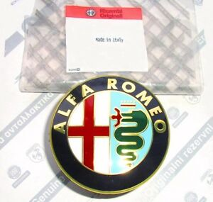 Alfa-Romeo-156-1997-to-2001-MK1-New-Rear-Boot-Trunk-Badge-Emblem