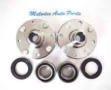 Front Left & Right Wheel Hub & Wheel Bearing Set for 2000-2004 VOLVO S40 / V40