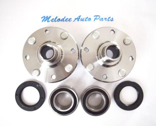 Front Left /& Right Wheel Hub /& Wheel Bearing Set for 2000-2004 VOLVO S40 V40