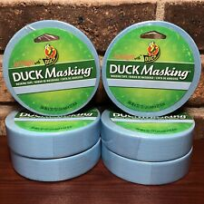 Blue Duck Masking Tape 6 Rolls 94 In X30 Yd Labeling Decorating Color Coding