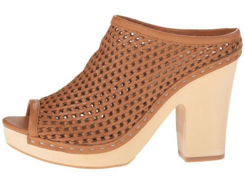 Woven Vita Mule Tan Leather Dolce Brooks Clog 5 Wedge Pennino 10 10 Nuovo ~ Platform 5AwIZq5