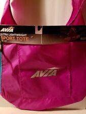 "Avia Ultra Lightweight Sport Tote Yoga Fittness Bag 18/""x16/"" Pink Polka Dot"