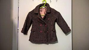 8282e3531 Girls Junior J (Jasper Conran) at Debenhans pink & brown dressy coat ...