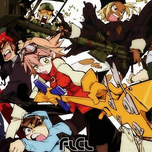 FLCL FOOLY COOLY poster wall decoration photo print 24x24 inches