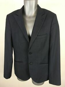 MENS-TOPMAN-NAVY-BLUE-SMART-FORMAL-BUTTON-UP-BLAZER-SUIT-JACKET-SIZE-UK-38
