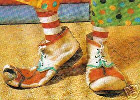 Chaussures-Clown-rouge-et-blanche-DOIGT-souple-la-paire-deguisement-2682