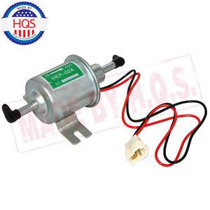 1x 12V Universal Electric//Electrical Fuel Pump Inline Diesel Petrol Low Pressure