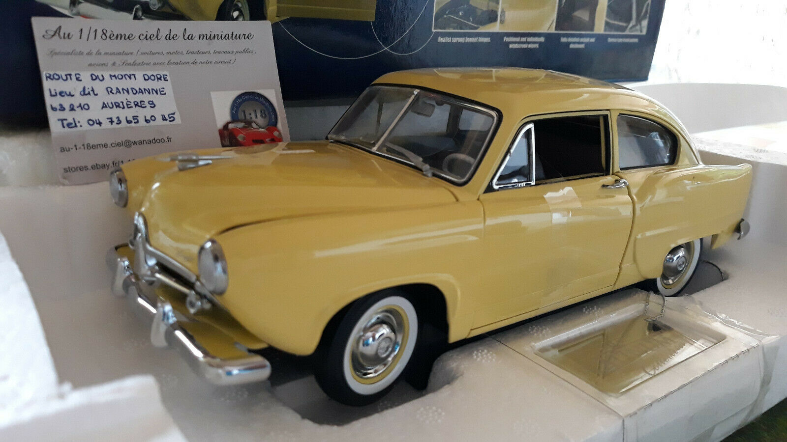 comprar descuentos KAISER HENRY J. 1951 amarillo au 1 18 SUN SUN SUN Estrella 5091 voiture miniature de collection  El ultimo 2018