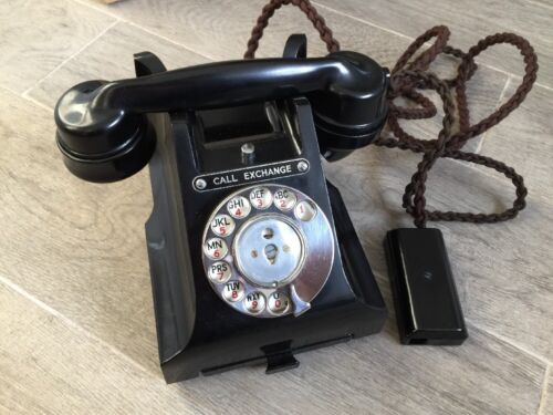 !BLACK FRIDAY SALE! GPO Call Exchange 312L Bakelite NEW OLD STOCK IN BOX